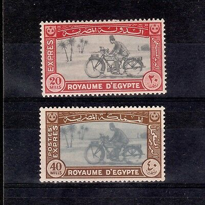 Egypt 1926 / 1943 Pair Of Express Delivery Stamps S.g. 139 & 290 Mint