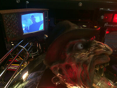 Freddy: Nightmare On Elm Street Pinball mod - TV with VIDEO playback!