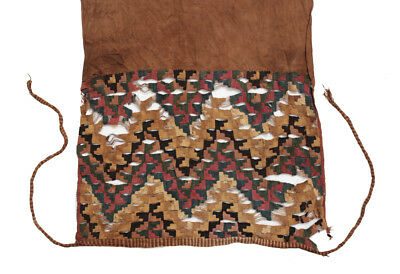 Hand Woven PRE COLUMBIAN Textile Sash in a linen type fabric