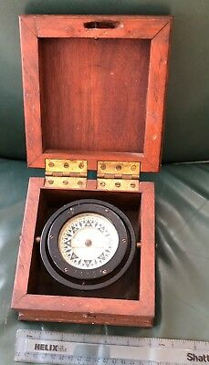 Antique Vintage Nautical Boston STAR Compass Marine Sailing Ship Boat Vessel
