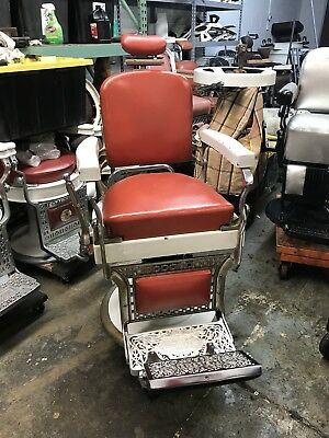 Antique Koken Barber Chair 1920's