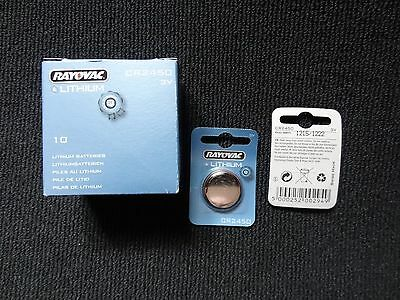 1 X  Rayovac CR2450 Quality Watch Battery. Lithium 3V - Long expiry date