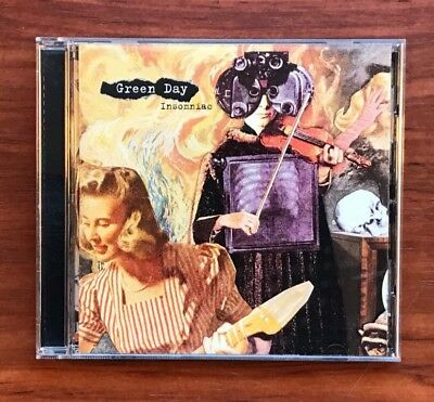Insomniac by Green Day (CD, Oct-1995, Reprise)