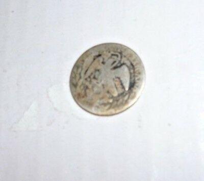 Old Republica Mexicana silver coin date unclear
