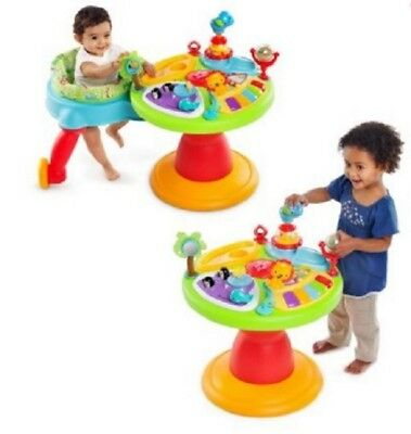 Baby Activity Center 3 In 1 Around We Go Bright Starts Playtime Toy Learn & Walk