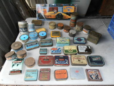 Vintage Tobacco Tins Lot
