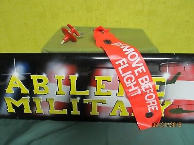 Military Aviation Remove Before Flight Tag With Push Pin Lock Motorcycle Drag