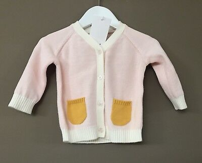 Seed Heritage Baby Girl Cardigan Size 3-6 Months RRP$49.95