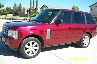 2004 Land Rover Range Rover HSE 2004 Range Rover HSE, Rare Burgundy Color, Mechanic's Special