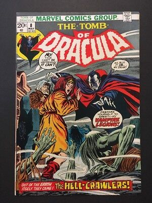 Tomb of Dracula #8 (May 1973, Marvel) VINTAGE HORROR COMIC BOOK SERIES