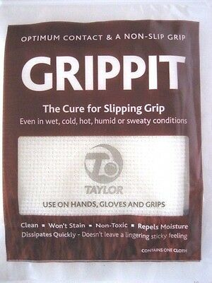 All New: GRIPPIT Tacky Sticky Lawn Bowls Grip Cloth. FREE SHIPPING