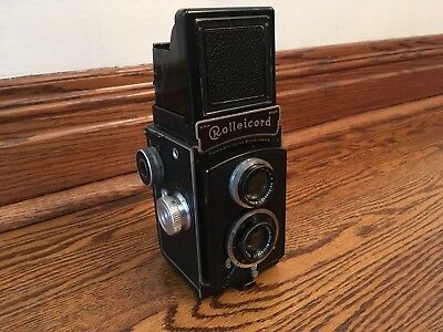 Serviced Rolleicord ia Model 2 1937 Cleaned Works!