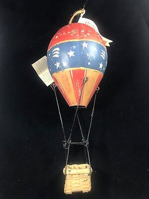 Midwest Of Cannon Falls Hometown Memories Ornament Metal/Tin Hot Air Balloon