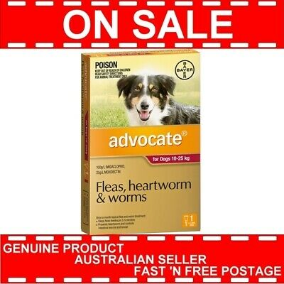 Advocate for Large Dogs Red 10-25kg 1 Pack