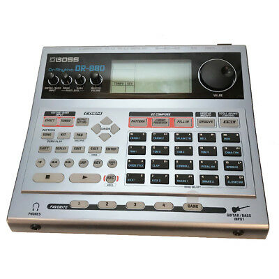 Traded-in Boss DR-880 Dr. Rhythm Drum Machine