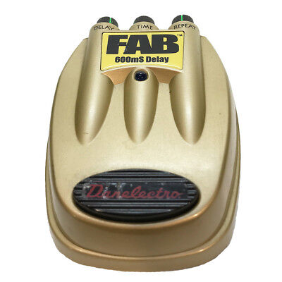 Traded-in Danelectro FAB Delay Pedal