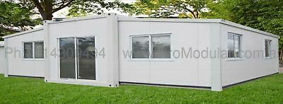 Portable Home, Cabin, Granny Flat, Retreat, Office, prefabricated 37 M2 + 2 Beds