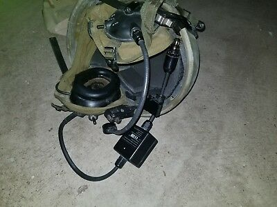 US SPECIALTY ADVANCED COMBAT VEHICLE CREWMAN HEADSET HELMET small/medium