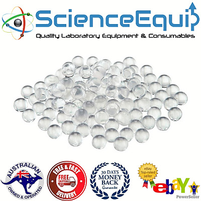 Laboratory Round Beads, Solid Glass 500grm/Bag- 6mm