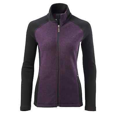 Kathmandu Boundary Womens Merino Zip Up Cardigan Top Warm Winter Jacket v2