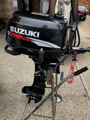 Brooker Tinny With Exceptional Suzuki 6Hp 4 Stroke Outboard