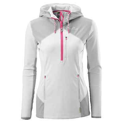 Kathmandu Escarpar Women's Mid Layer Hooded Slim Fit Hiking Fleece Pullover