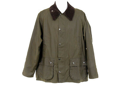 J Crew Barbour Sylkoil Bedale Ashby Men's Jacket Coat Olive S A0999 $399 NWT