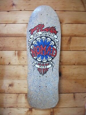 Alva skateboard NOS 1988 Bill Danforth Nomad rare vintage original deck