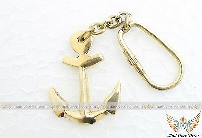 Brass Ship Anchor Key Chains-Nautical Xmas Gift