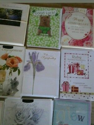 birthday cards job lot x 80 £9.39 TOP QUALITY SHOP ASSORTED & OCCASION CARDS NEW