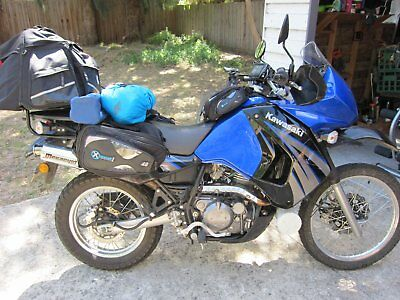 KLR 650 Adventure tourer motorcycle