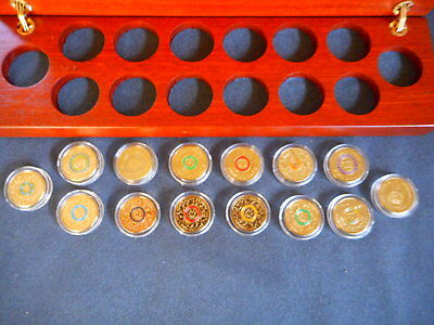 2012-2017 anzac remembrance coronation olympic commemorative 14 x $2 coins #b31