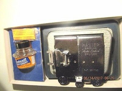 Vintage Mansfield Master Auto- Splicer Film 8 & 16 mm Silent or Sound
