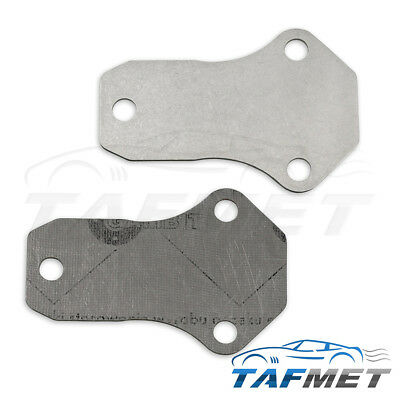 TOYOTA AVENSIS MULTI FIT EGR VALVE BLANKING PLATE 1.5MM STAINLESS HC