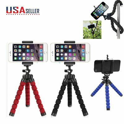Adjustable Octopus Tripod Bracket Phone Holder for iPhone Android Mobile Camera