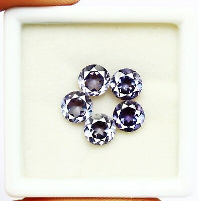 8.50Ct Certified Natural Color Changing Alexandrite Loose Gems Lot 5Pcs AX4312