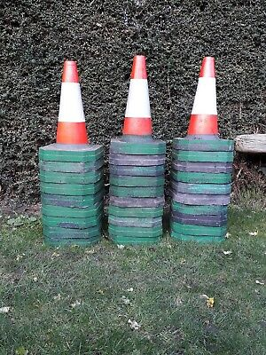 "23 x 18"" / 46cm Road Traffic Cones - Heavy Duty - Self Weighted"