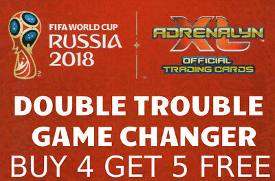 Adrenalyn Xl Fifa World Cup 2018 Double Trouble & Game Changer Cards