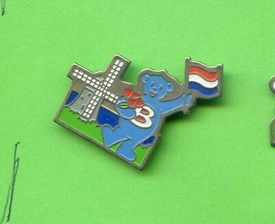 Pins Butagaz Pays Bas Moulin Ours H645