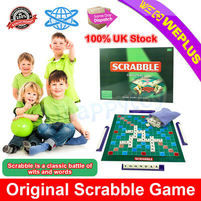 Scrabble Original Game Board Game Kid Children Educational Toy Family Party Game