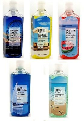 Bath & Body Works Because Summer Deep Cleansing Hand Pump Soap 8 fl oz / 236ml