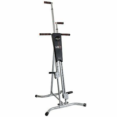 MaxiClimber The Unisex Vertical Climbing Fitness System Stepper Cardio