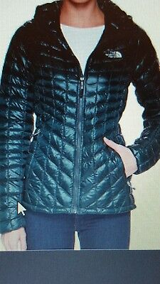 Womens The North Face  ThermoBall Full Zip Jacket Compressible