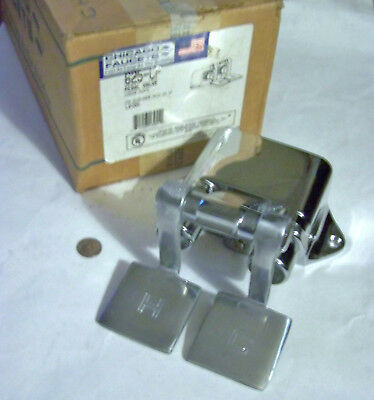 Chicago Faucet 625-Cp Nos Hot & Cold Water Floor Mount Foot Pedal Valve Chrome