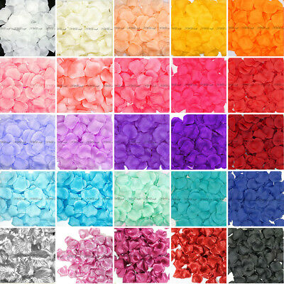 200pcs Silk Rose Petals - Wedding Birthday Celebration Decoration Confetti