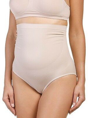 Seamless Maternity Brief Knickers by Naturana 4070 S-L Light Beige