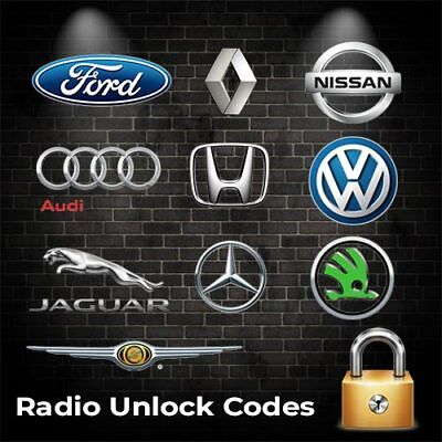 Car Radio Codes PIN Unlock Code Service Stereo Unlock Your Radio In Minutes