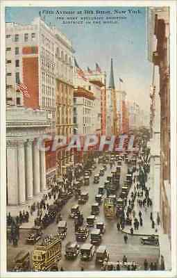 CPA Fifth Avenue at 34th Street New York The Most Exclusive Shopping District in
