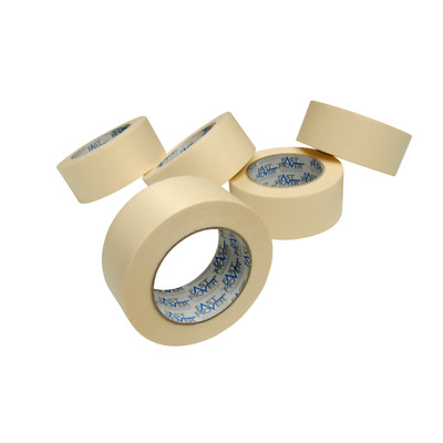20 x Rolls of Masking Tape 48mm x 50 Metres 80 Degrees