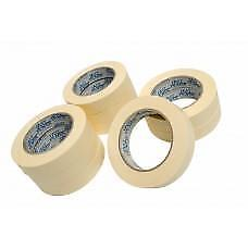 36 x Rolls of Masking Tape 24mm x 50 Metres 80 Degrees